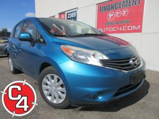 Used 2014 Nissan Versa Note SV NOTE  AUTO A/C BLUETOOTH for sale in St-Jérôme, QC