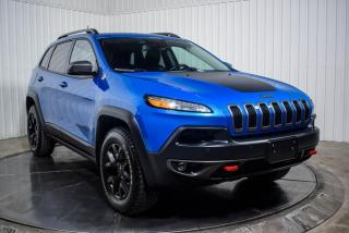 Used 2018 Jeep Cherokee TRAILHAWK 4X4  V6 CUIR TOIT NAV for sale in St-Hubert, QC