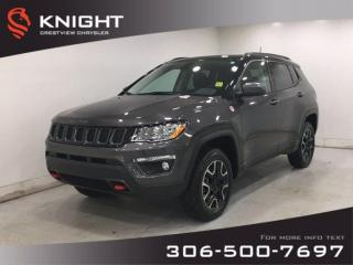 Used 2019 Jeep Compass Trailhawk | Leather | Navigation | Sunroof for sale in Regina, SK