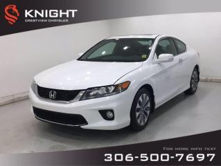 Used 2014 Honda Accord Coupe EX-L | Leather | Navigation | Sunroof | for sale in Regina, SK