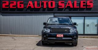Used 2012 Land Rover Range Rover Sport HSE|ACCIDENT FREE|NAV|LEATHER|BACKUP CAM|4X4|V8 for sale in Brampton, ON