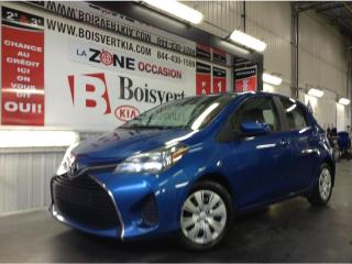 Used 2017 Toyota Yaris YARIS LE DÉMARREUR DISTANCE ATO AVEC A/C WOW !!! for sale in Blainville, QC