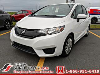 Used 2016 Honda Fit LX boîte manuelle for sale in Sorel-Tracy, QC