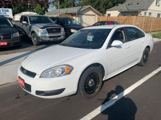 Used 2013 Chevrolet Impala Undercover Police Pkg for sale in Hamilton, ON