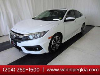 Used 2016 Honda Civic Sedan EX-T *Accident Free, Always Owned In MB!* for sale in Winnipeg, MB