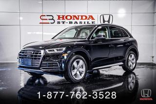 Used 2018 Audi Q5 TECHNIK + QUATTRO + NAVI + PANO + WOW! for sale in St-Basile-le-Grand, QC