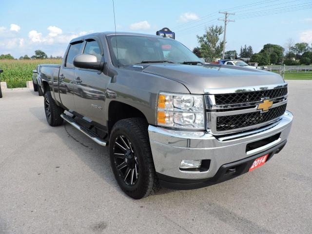 2014 Chevrolet Silverado 2500 LTZ Diesel 4X4 Leather Well oiled