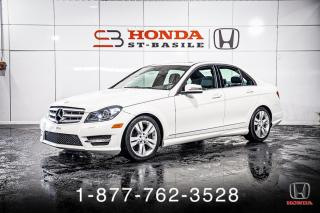 Used 2012 Mercedes-Benz C-Class C300 + 4MATIC + TOIT + CUIR + WOW! for sale in St-Basile-le-Grand, QC
