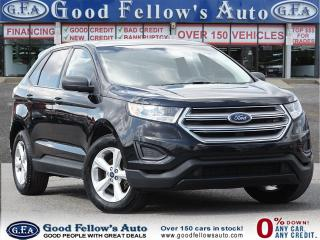 Used 2017 Ford Edge SE MODEL, REARVIEW CAMERA, 2.0L ECO, BLUETOOTH for sale in Toronto, ON