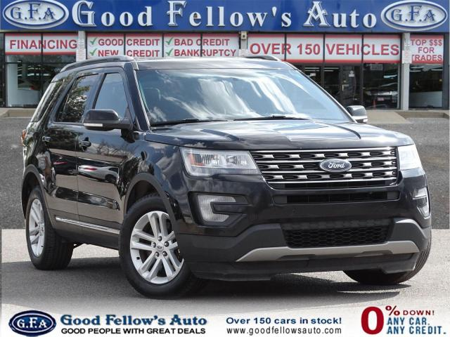 2016 Ford Explorer XLT MODEL, 2.3L ECO, LEATHER & POWER SEATS, 7 PASS