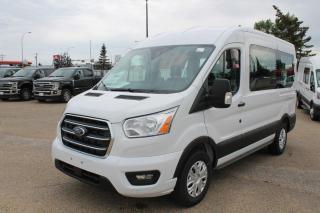 New 2020 Ford Transit Passenger Wagon XLT, 3.5L PFDI, Backup Alarm, Reverse Camera System for sale in Edmonton, AB