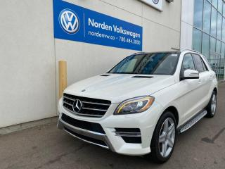 Used 2013 Mercedes-Benz ML-Class ML 350 BlueTEC 4dr AWD - Diesel! LOW KMS! for sale in Edmonton, AB