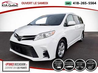Used 2019 Toyota Sienna LE* 8 PLACES* PORTES ELECTRIQUES* SIEGES for sale in Québec, QC