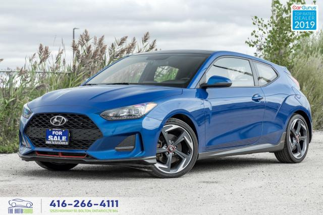 2019 Hyundai Veloster Turbo|Auto|Heated seats+Steering|Sunroof|
