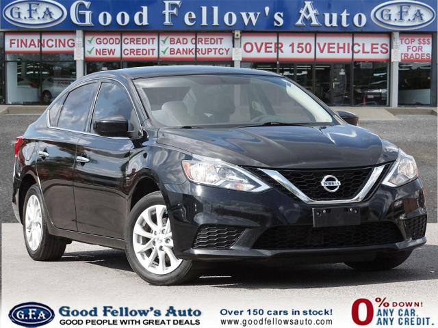 2017 Nissan Sentra SV MODEL, 4CL 1.8L, REARVIEW CAMERA, POWER SUNROOF