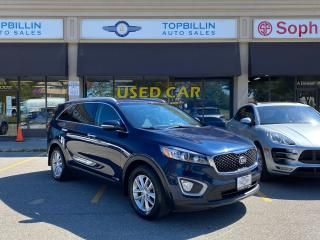 Used 2017 Kia Sorento AWD V6, 7 PASS, APPLE CARPLAY, B CAM for sale in Vaughan, ON