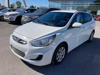 Used 2014 Hyundai Accent Voiture à hayon, 5 portes, boîte manuell for sale in Joliette, QC