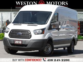 Used 2016 Ford Transit 250 MEDROOF*148WB*GASTURBO*REV CAM*METAL CARGO AREA!* for sale in Toronto, ON