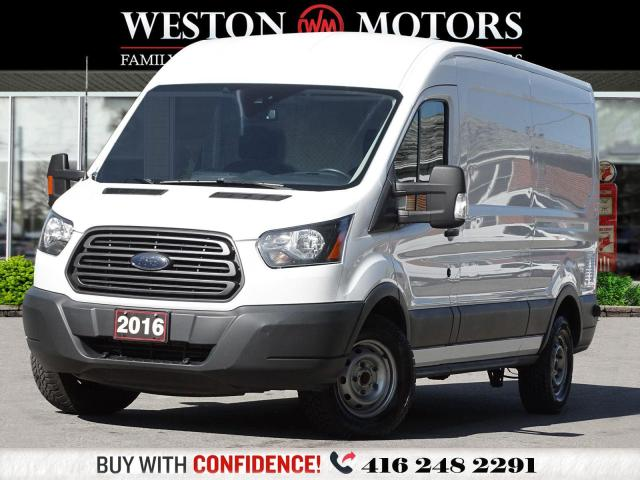 2016 Ford Transit 250 MED ROOF*REV CAM*RWB*