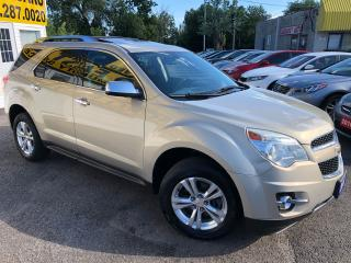 Used 2011 Chevrolet Equinox LTZ/ LEATHER/ SUNROOF/ CAM/ ALLOYS/ TINTED ++ for sale in Scarborough, ON