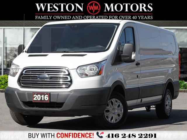 2016 Ford Transit 250 LOWROOF*130WB*LEATHER*REVCAM*SHELVING*PROPANE!!*