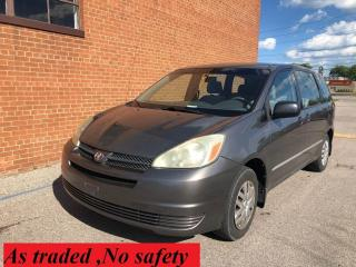 Used 2004 Toyota Sienna CE/7 PASSENGERS for sale in Oakville, ON