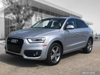 Used 2015 Audi Q3 Progressiv QUATTRO AWD! 4 New Tires! for sale in Winnipeg, MB