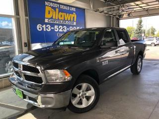Used 2017 RAM 1500 SLT Crew Cab 4X4 | Luxury Bench Seat/ 8 Screen for sale in Nepean, ON