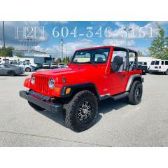 Used 1997 Jeep TJ Wrangler for sale in Surrey, BC