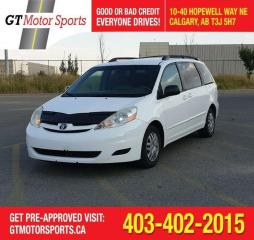 Used 2007 Toyota Sienna LE  I 8 PASSENGER|$0 DOWN - EVERYONE APPROVED for sale in Calgary, AB