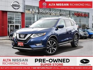 Used 2017 Nissan Rogue SL Plat. Reserve   360 CAM   Leather   Pano   Leds for sale in Richmond Hill, ON