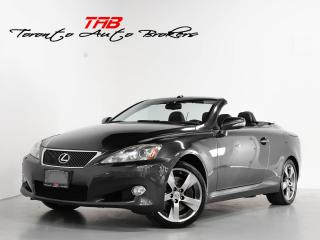 Used 2010 Lexus IS 350 C IS350C I CONVERTIBLE I NAVI I VENT. for sale in Vaughan, ON