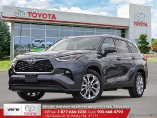 New 2020 Toyota Highlander Hybrid Limited for sale in Whitby, ON