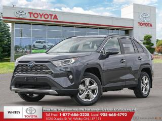 New 2020 Toyota RAV4 Hybrid Limited for sale in Whitby, ON