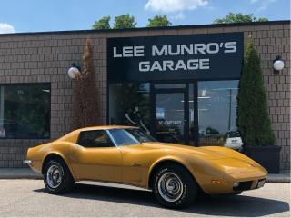 Used 1973 Chevrolet Corvette for sale in Paris, ON