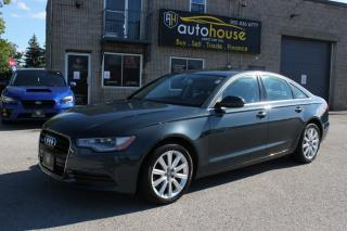 Used 2015 Audi A6 Premium,2.0T,quattro,AWD,SPORTS SEATS,NAVIGATION,BACKUP CAME for sale in Newmarket, ON