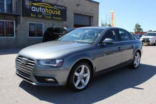 Used 2013 Audi A4 PRESTIGE,NAVI,BACKUP CAMERA,PUSH START,ONE OWNER,NEW TIRES for sale in Newmarket, ON