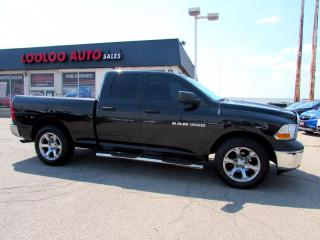 Used 2011 Dodge Ram 1500 Sport Quad Cab 4WD 4.7L CERTIFIED for sale in Milton, ON