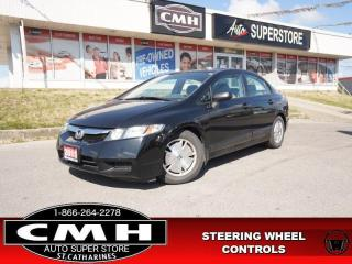 Used 2011 Honda Civic Sedan DX-G  AC PWR-GROUP ALLOYS MAN for sale in St. Catharines, ON