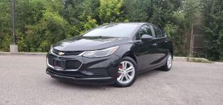 Used 2016 Chevrolet Cruze LT|TEXT.US|647.678.7778| REARVIEW| SUNROOF| REMOTESTARTER|ONE OWNER| for sale in Mississauga, ON