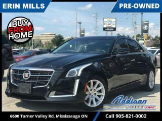 Used 2014 Cadillac CTS 2.0L Turbo AWD Luxury  PANO ROOF|HEATED AND COOLED SEATS|AWD! for sale in Mississauga, ON