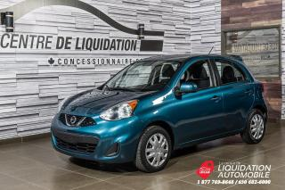 Used 2015 Nissan Micra SV+GR ELECTRIQUE+AIR CLIM for sale in Laval, QC