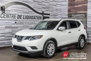 Used 2016 Nissan Rogue S+CAMERA DE RECUL+GR ELECTRIQUE+AIR CLIM for sale in Laval, QC