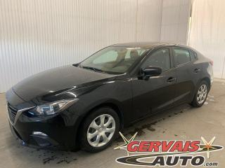 Used 2016 Mazda MAZDA3 GPS Caméra A/C Bluetooth for sale in Trois-Rivières, QC