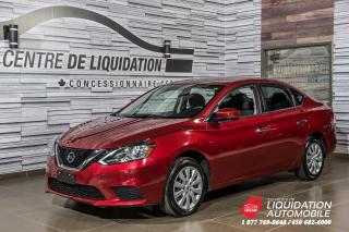 Used 2017 Nissan Sentra SV+BANCS CHAUFFANTS+CAMERA DE RECUL for sale in Laval, QC