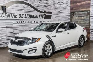 Used 2015 Kia Optima LX+MAGS+GR ELECTRIQUE+AIR CLIM for sale in Laval, QC