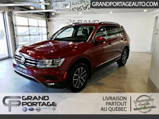 Used 2019 Volkswagen Tiguan COMFORTLINE 4Motion for sale in Rivière-Du-Loup, QC