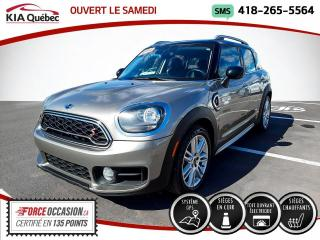 Used 2018 MINI Cooper Countryman S* AWD* TOIT OUVRANT* CUIR* GPS* CAMERA* for sale in Québec, QC