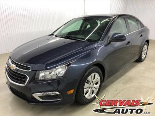 Used 2016 Chevrolet Cruze LT BLUETOOTH CAMÉRA A/C for sale in Shawinigan, QC