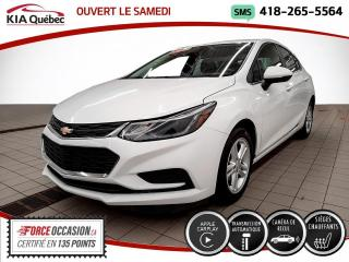 Used 2018 Chevrolet Cruze LT* CARPLAY* CAMERA* SIEGES CHAUFFANTS* for sale in Québec, QC